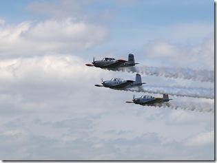 T 34 flyby