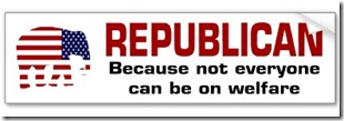 republican_welfare_sticker_bumper_sticker-p128404293690651845trl0_400
