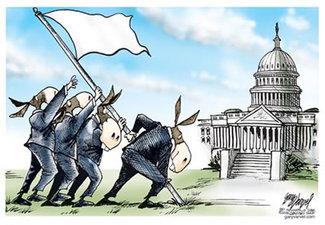 Democratwhiteflag