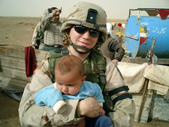 Woman_soldier_and_baby