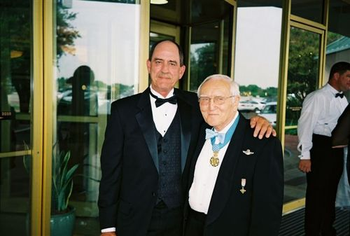 Don with the legendary Col. Bud Day, Hero of the Hanoi Hilton